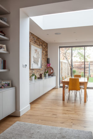 sustainable dining room